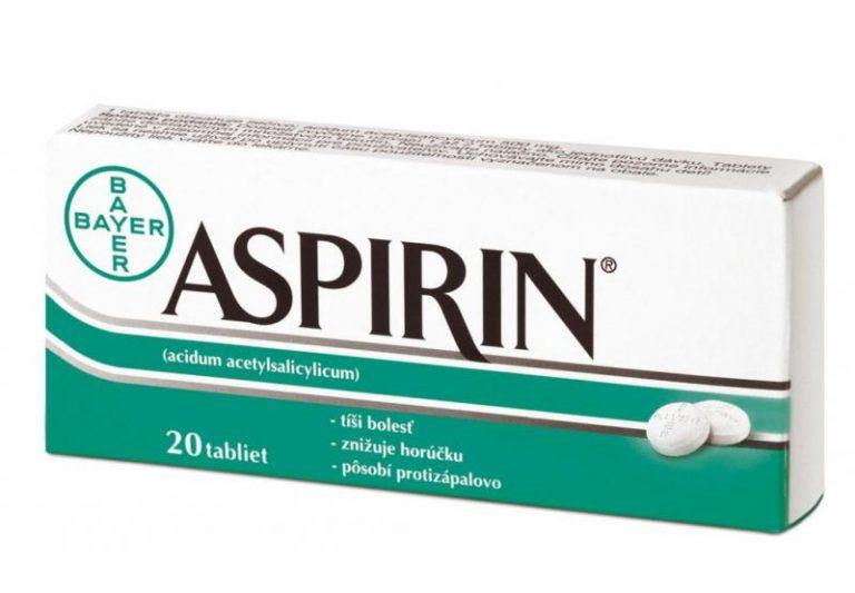 Aspirin: cena, účinky, dávkovanie, zloženie a použitie