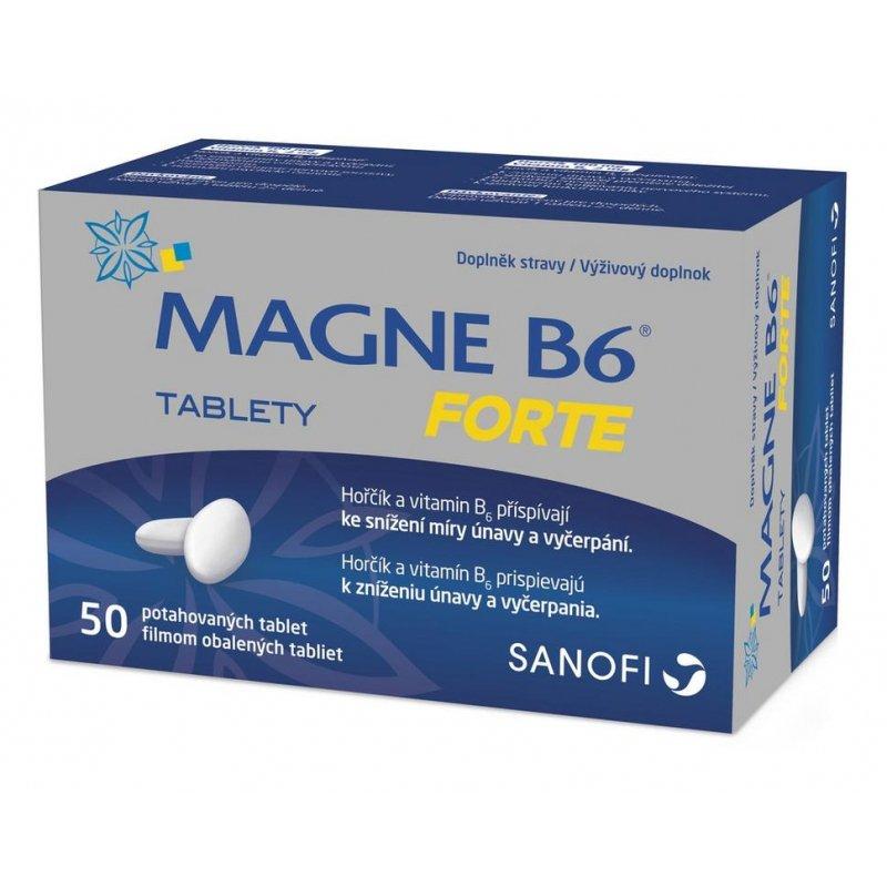 Magne B6 Forte – známé tabletky s hořčíkem a vitamínem B6 (recenze + zkušenosti)