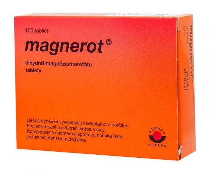 Magnerot: skúsenosti, dávkovanie, zloženie a účinky