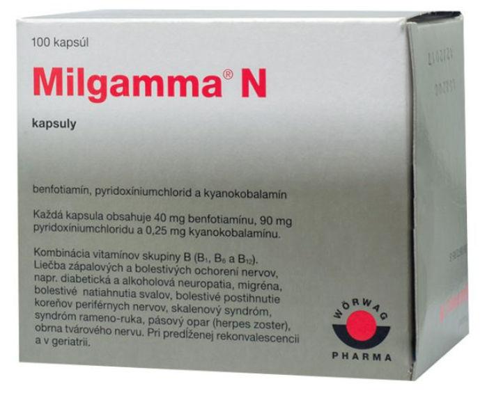 Milgamma N: skúsenosti, zloženie, užívanie a účinky