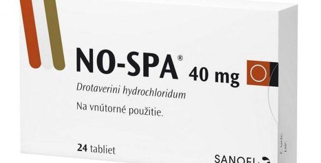 NO-SPA: cena, skúsenosti, dávkovanie, užívanie a účinky