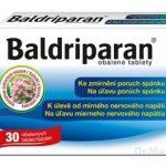 Baldriparan: cena, skúsenosti, zloženie a dávkovanie