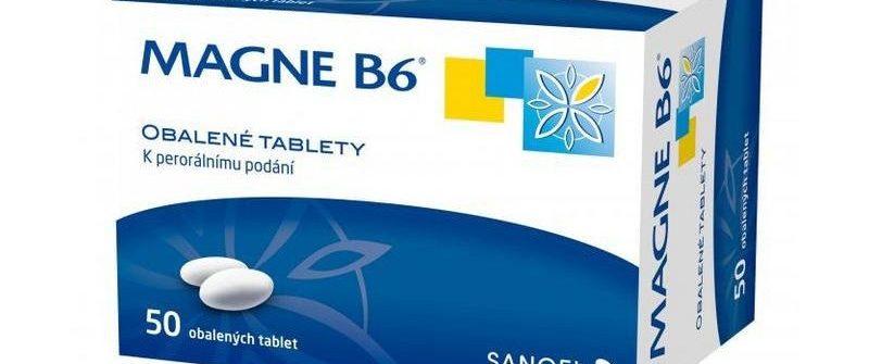 MAGNE-B6: cena, účinky, dávkovanie, zloženie a užívanie