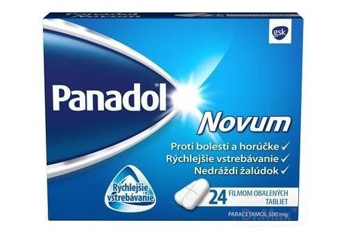 Panadol Novum: cena, dávkovanie, účinky a zloženie