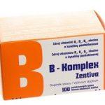 B-Komplex Zentiva: zloženie, cena, účinky a dávkovanie