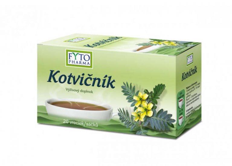 FYTO Kotvičník: čaj, účinky, skúsenosti, cena a užívanie
