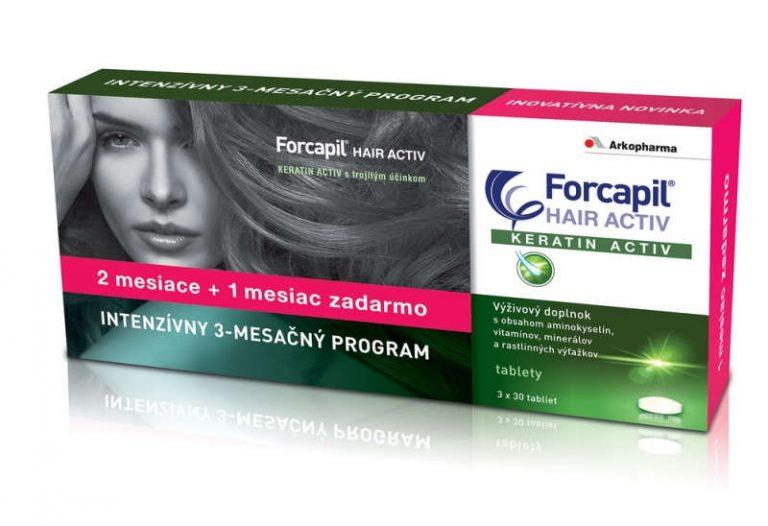 Forcapil HAIR ACTIV: cena, skúsenosti, zloženie a účinky