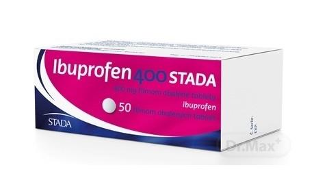 Ibuprofen 400 STADA: dávkovanie, cena, účinky a použitie