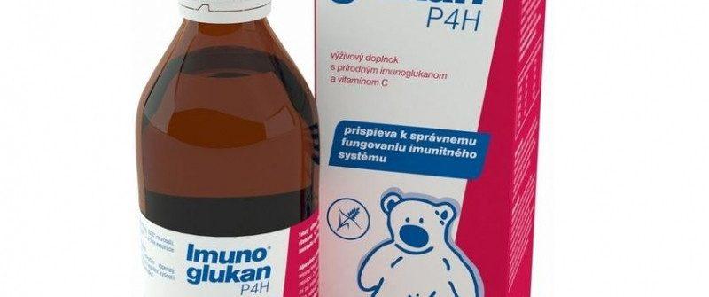Imunoglukan P4H sirup cena, davkovanie, zlozenie a ucinky