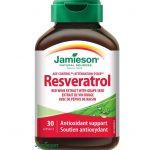 Jamieson Resveratrol: účinky, skúsenosti, predaj a cena