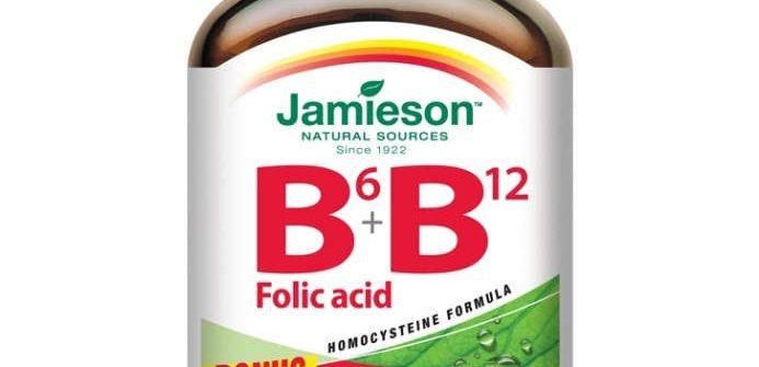 Jamieson Vitamíny B6, B12 a kyselina listová: cena a účinky