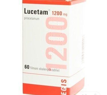 Lucetam 1200 mg: cena, skúsenosti, účinky a dávkovanie