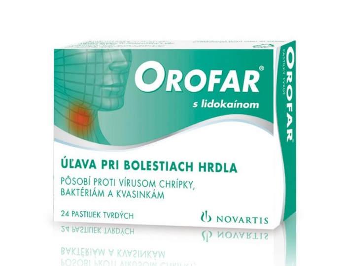 Orofar: pastilky, cena, užívanie, predávkovanie a účinky