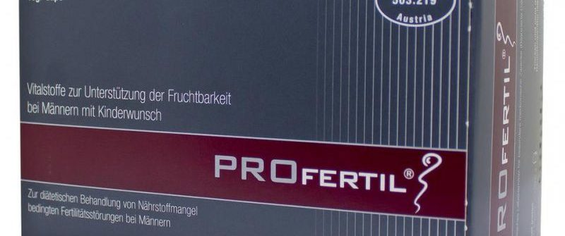 Profertil: cena, zloženie, skúsenosti, účinky a užívanie