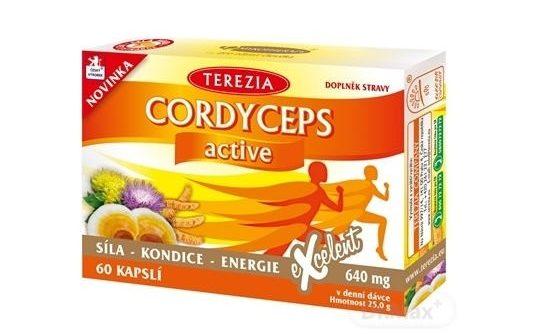 Terezia Cordyceps active: účinky, cena a dávkovanie