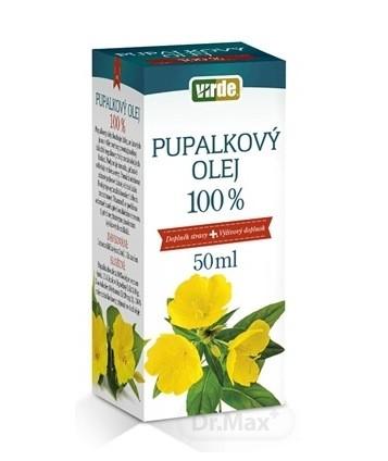 Virde Pupalkový olej 100 %: cena, dávkovanie a účinky