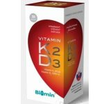 Biomin Vitamin K2 + D3 1000 I.U.: kapsule, cena a účinky