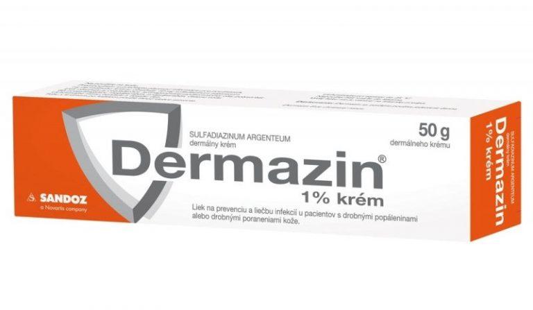 Dermazin 1 % krém: skúsenosti, cena a na čo sa používa