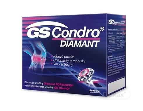 GS Condro Diamant: cena, zloženie, účinky a užívanie