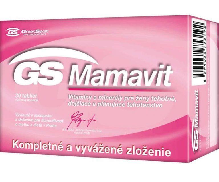 GS Mamavit: cena, skúsenosti, zloženie a dávkovanie