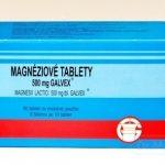 Galvex Magnéziové tablety: účinky, dávkovanie a zloženie