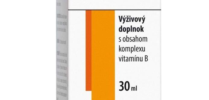 Generica B-komplex kvapky: zloženie, dávkovanie a cena