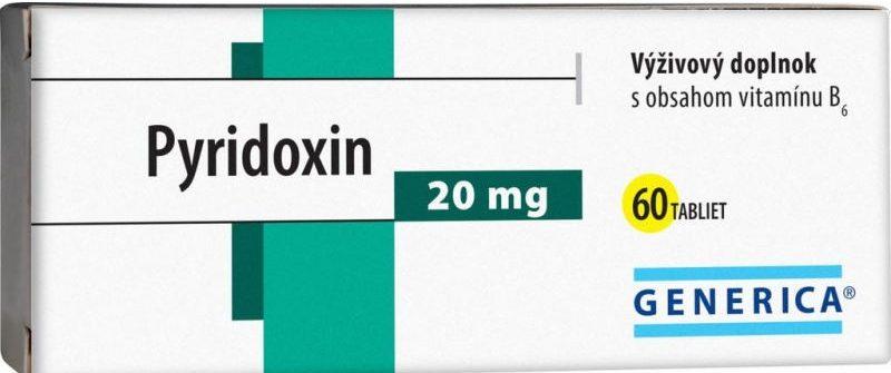 Generica Pyridoxin: cena, dávkovanie, účinky a skúsenosti