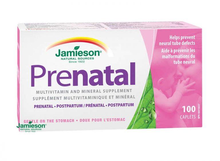Jamieson Prenatal: cena, zloženie, účinky a užívanie