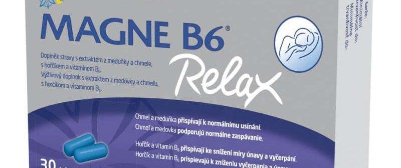 MAGNE B6 Relax: účinky, cena, skúsenosti a dávkovanie