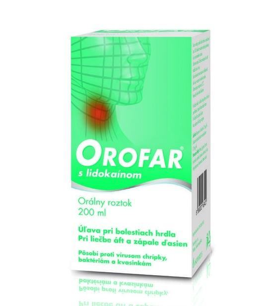 Orofar sprej: cena, skúsenosti, dávkovanie a použitie