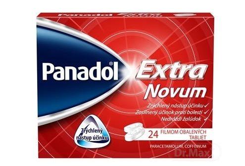 Panadol Extra Novum: cena, dávkovanie, zloženie a účinky