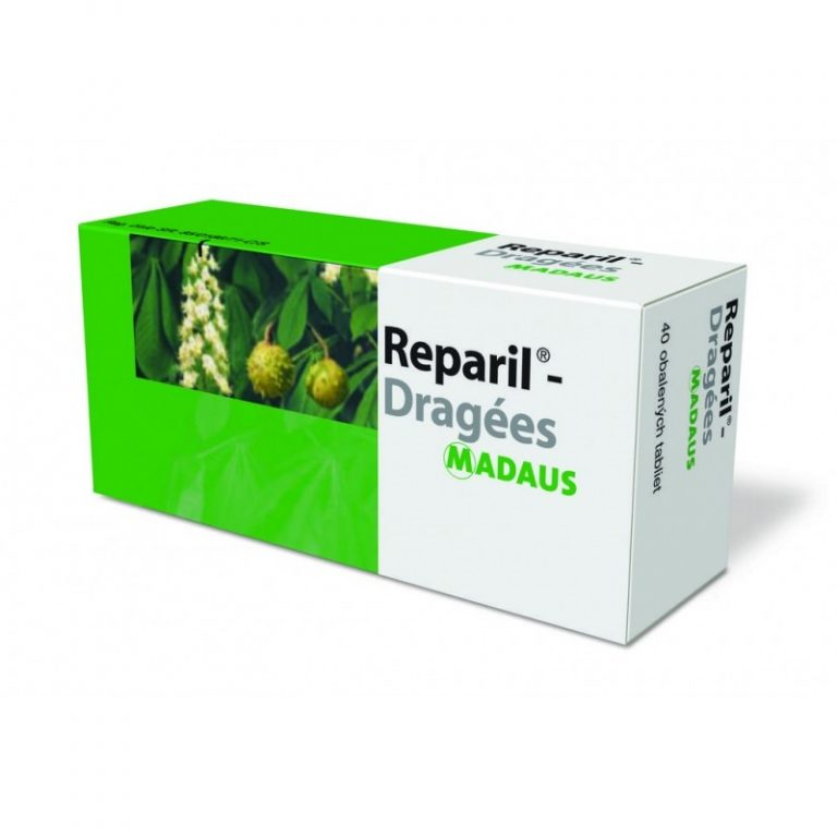 Reparil Dragees tabletky, uzivanie, zlozenie a ucinky