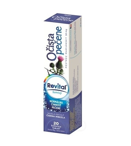 Revital Očista pečene: šumivé tablety, cena, skúsenosti