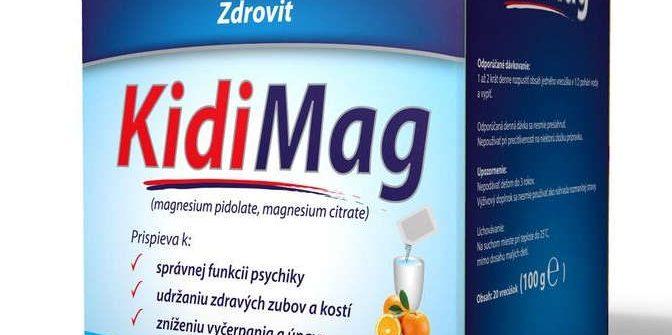 Zdrovit KidiMag: cena, použitie, dávkovanie a užívanie