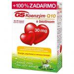 GS Koenzým Q10 30 mg: s biotínom, skúsenosti a dávkovanie