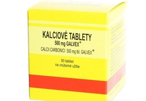 Galvex Kalciové tablety: cena, dávkovanie a skúsenosti