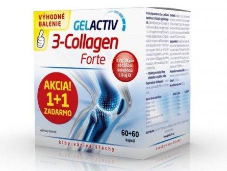 Gelactiv 3-Collagen Forte: cena, skúsenosti a balenia