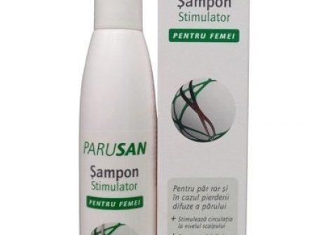 Parusan šampón pre ženy: Na vlasy aj vlasovú pokožku, na vyživovanie a rast vlasov