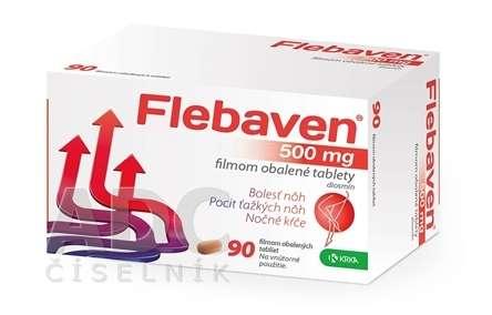 Flebaven 500 mg: cena, skúsenosti, zloženie a užívanie