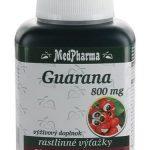 MedPharma Guarana: cena, účinky, skúsenosti a užívanie