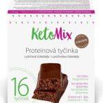 Ketomix proteínové tyčinky