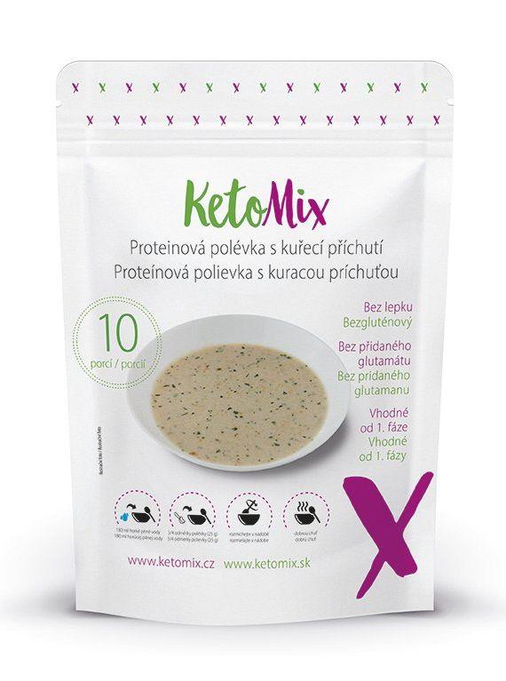Proteínové polievky Ketomix