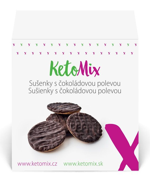 Proteínové sušienky KetoMix
