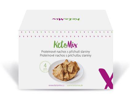 Proteínové nachos slanina KetoMix