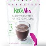 Proteínový kakaový horúci nápoj KetoMix