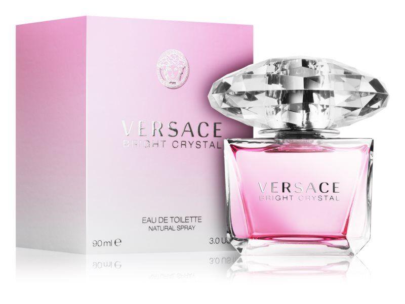 Versace Bright Crystal: Exkluzívna toaletná voda pre ženy so sviežou kvetinovou vôňou